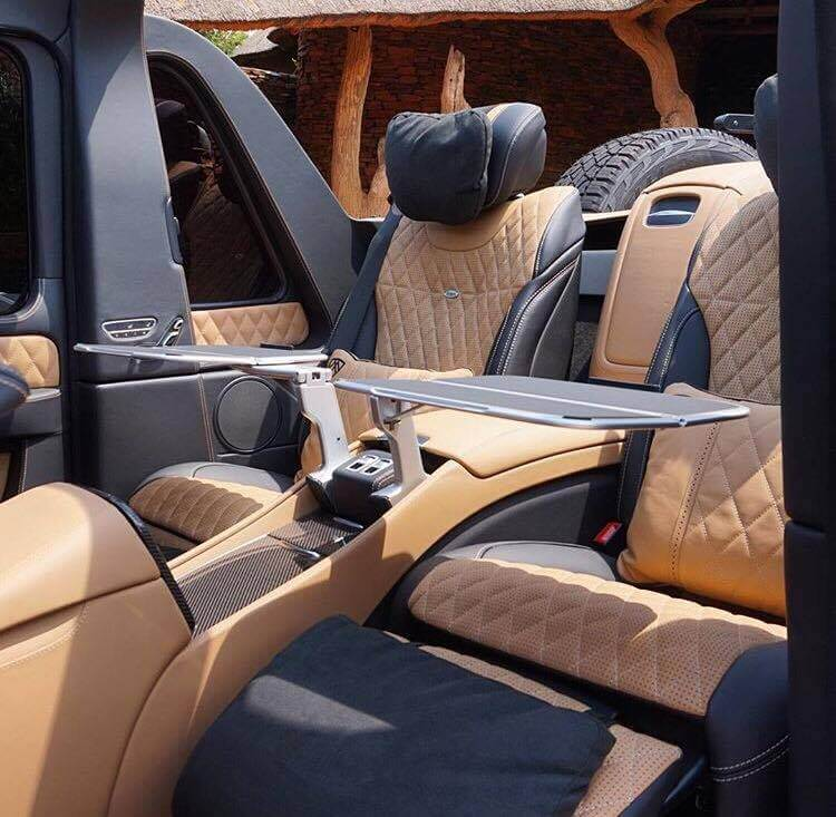 g wagon landaulet rear interior