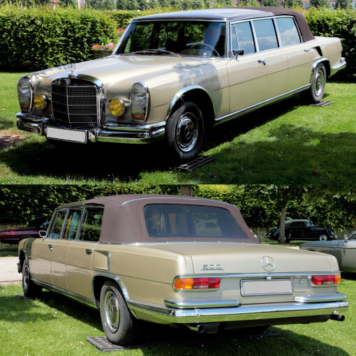 Landaulet Mercedes-Maybach rare mercedes
